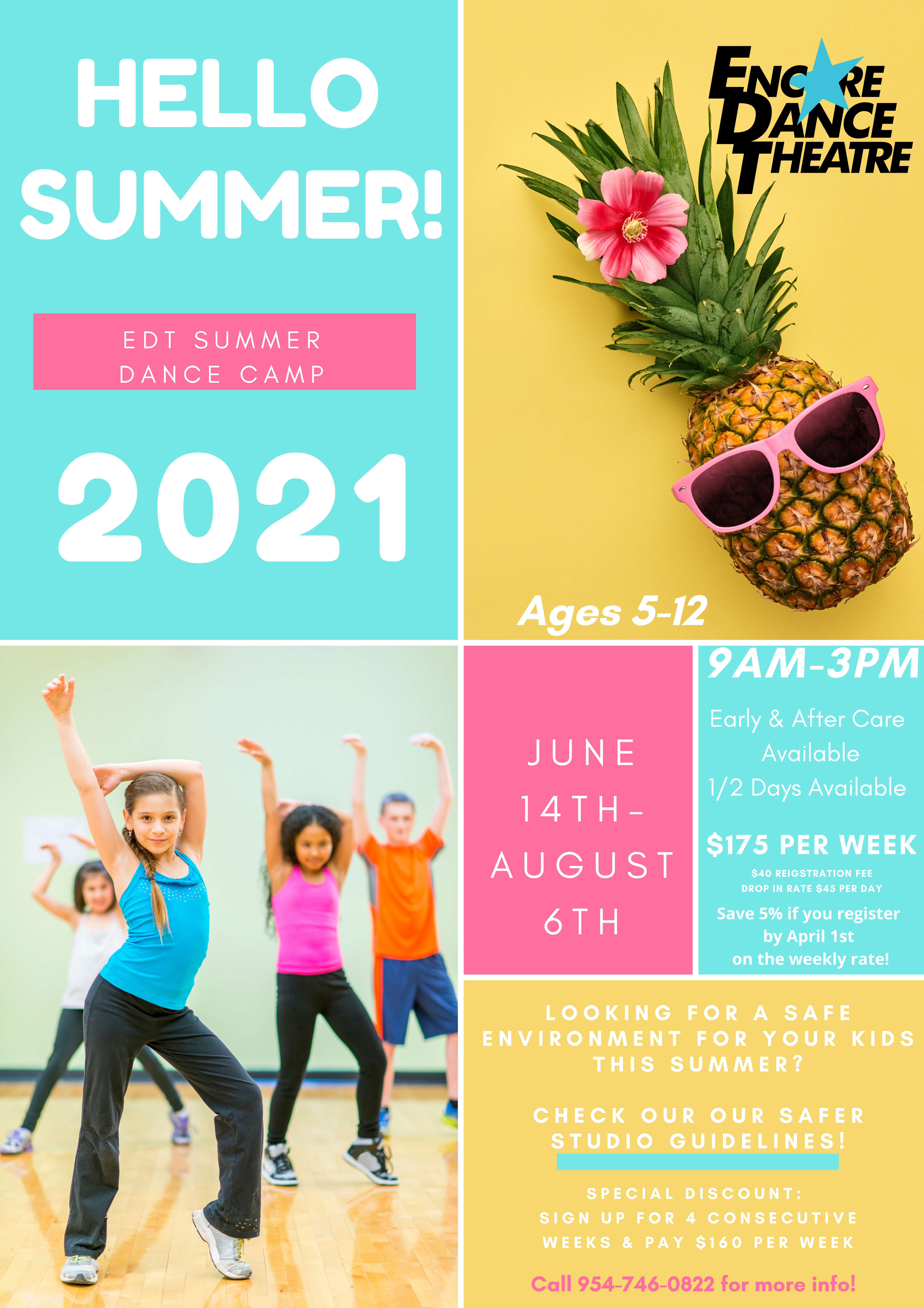 dance camp promotion